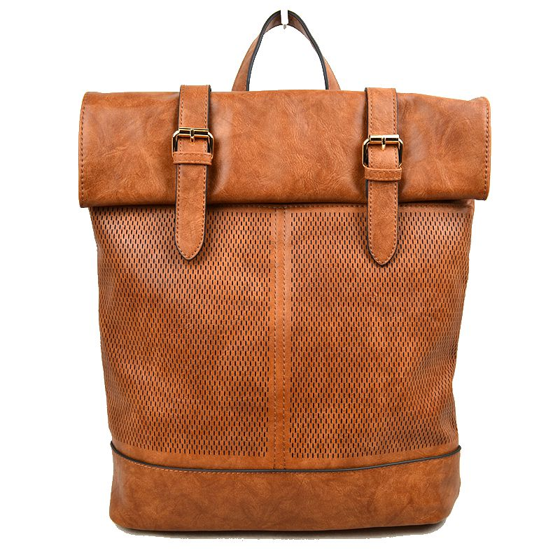 """Janet"" Vegan Leather Fashion Backpack"