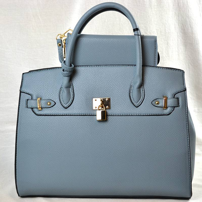 """Tiff"" 2 piece Vegan Leather Handbag Set"