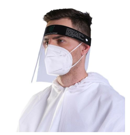 Face Shield with Anti-fog and Anti-splash Face Eye Protective Safety Clear Visor