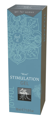 SHIATSU - STIMULATION GEL - MINT