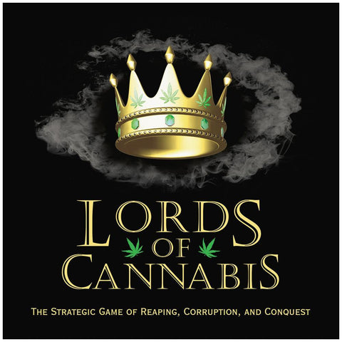 LORD OF CANNABIS ADULT BOARD GAME