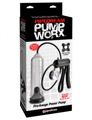 PUMP WORX PRO-GAUGE POWER PUMP by PIPEDREAM