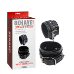 BEHAVE SURRENDER WRIST RESTRAINTS