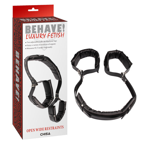 BEHAVE OPEN WIDE RESTRAINTS