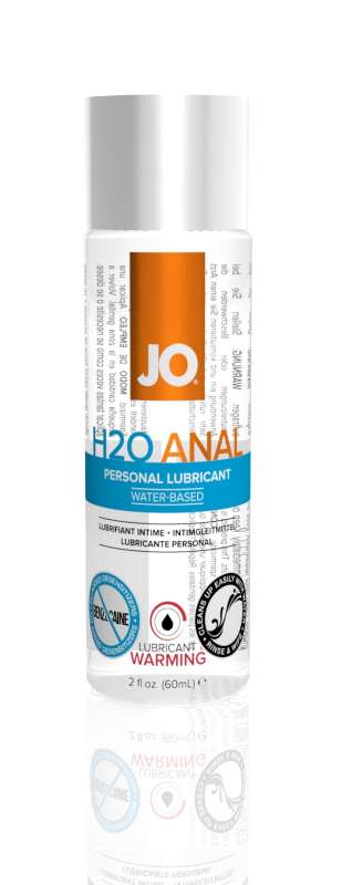 H2O ANAL WARMING by SYSTEM JO