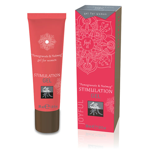 SHIATSU - STIMULATION GEL - POMEGRANATE & NUTMEG