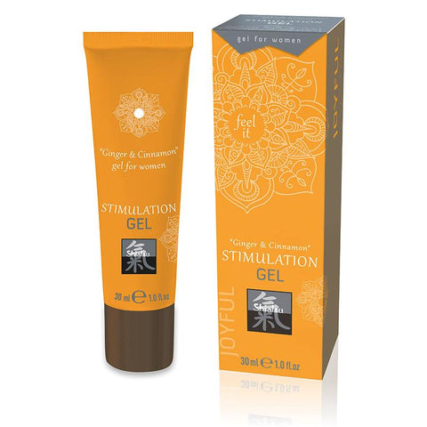 SHIATSU - STIMULATION GEL - GINGER & CINNAMON