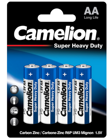 AA BATTERIES CAMELION