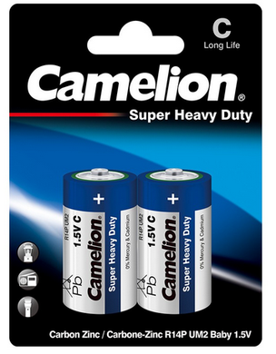 C BATTERIES CAMELION