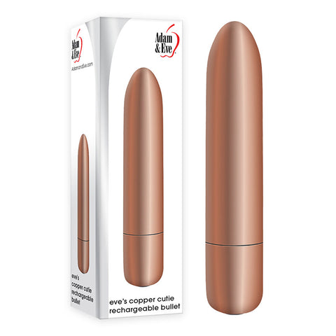 EVES COPPER CUTIE RECHARGEABLE BULLET ADAM AND EVE
