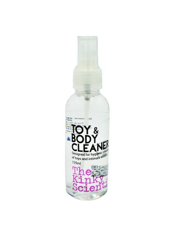 THE KINKY SCIENTIST - TOY & BODY CLEANER - SPRAY MIST