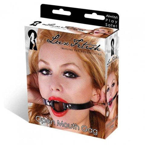 LUX FETISH OPEN MOUTH GAG