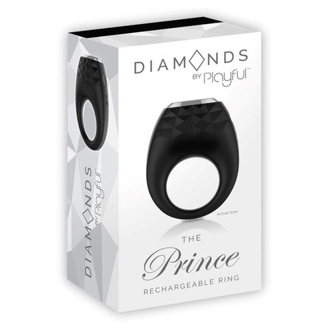DIAMONDS - THE PRINCE RECHARGEABLE RING by PLAYFUL
