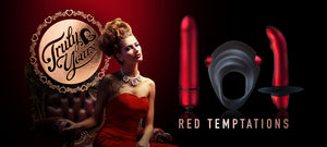 TRULY YOURS RED TEMPTATION KIT by ROCKS OFF
