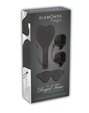 Load image into Gallery viewer, DIAMONDS - THE ROYAL TEASE 3 PIECE FETISH KIT by PLAYFUL