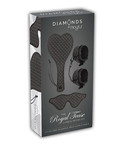 DIAMONDS - THE ROYAL TEASE 3 PIECE FETISH KIT
