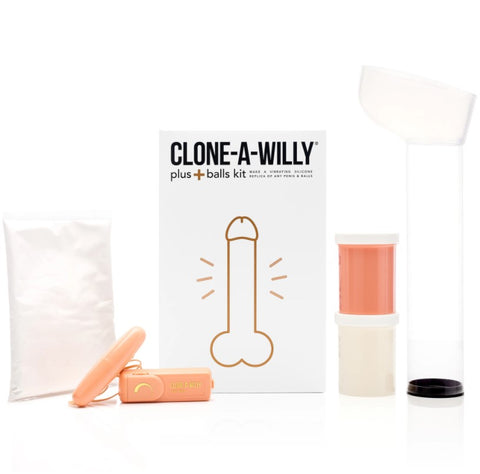 CLONE A WILLY PLUS BALLS KIT
