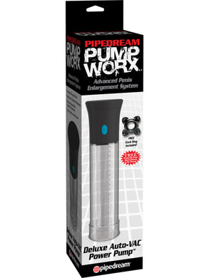 PUMP WORX DELUXE AUTO-VAC POWER PUMP POWERED PENIS PUMP