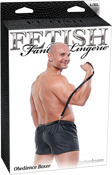 FETISH FANTASY OBEDIENCE BOXER WITH LEASH