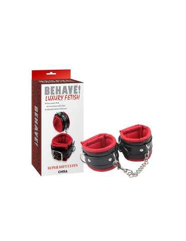 BEHAVE SUPER SOFT HAND CUFFS