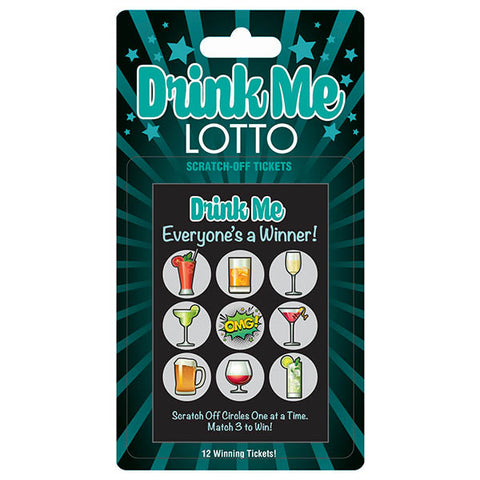 DRINK ME LOTTO SCRATCHER