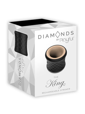 DIAMONDS - THE KING RECHARGEABLE STROKER by PLAYFUL
