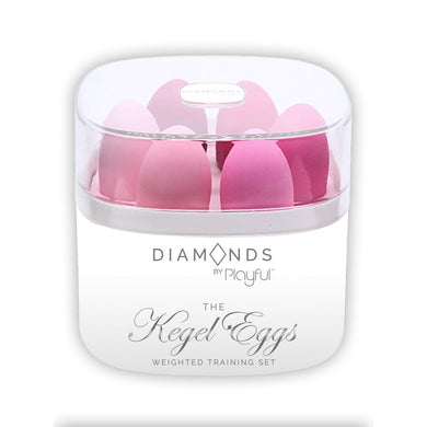DIAMONDS - KEGEL EGGS WEIGHTED TRAINING SET by PLAYFUL