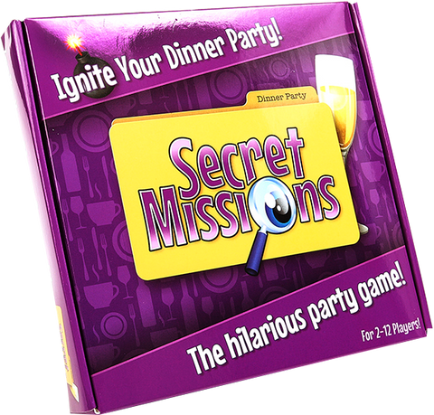 SECRET MISSIONS-DINNER PARTY GAME