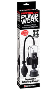 PUMP WORX - BEGINNERS VIBRATING PUMP by PIPEDREAM