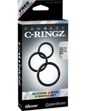 Load image into Gallery viewer, C-RINGZ - SILICONE 3 RING STAMINA SET