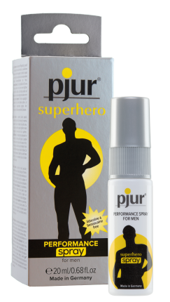 PJUR SUPERHERO PROLONGED PERFORMANCE SPRAY