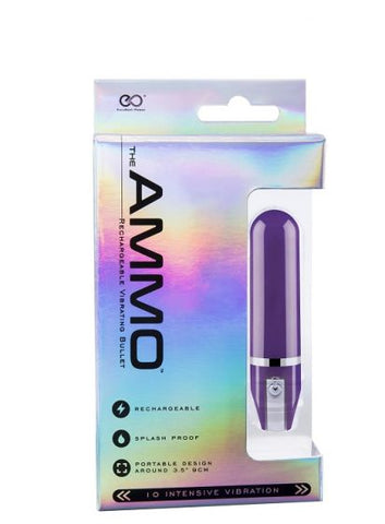 THE AMMO RECHARGEABLE VIBRATOR