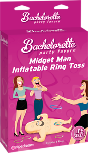 MIDGET MAN INFLATABLE RING TOSS by PIPEDREAM