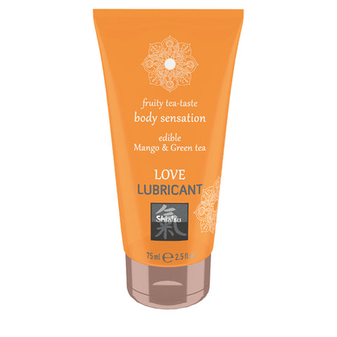 SHIATSU - EDIBLE LOVE LUBRICANT - WHITE TEA & PEACH
