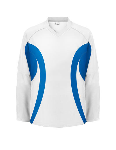 Firstar Arena Team Hockey Jersey (White/Royal)