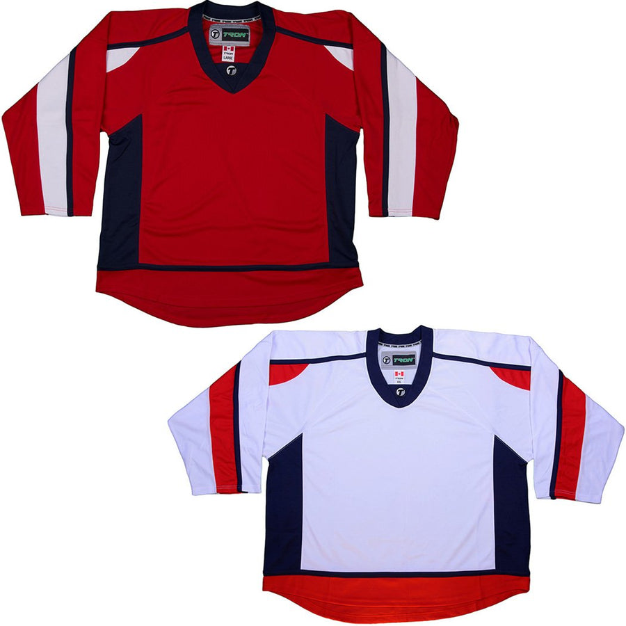 Washington Capitals Hockey Jersey - TronX DJ300 Replica Gamewear 125883565