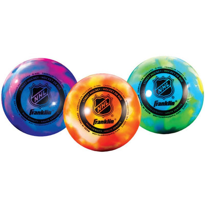 Franklin NHL Extreme Warm Weather Street Hockey Ball (3-Pack)
