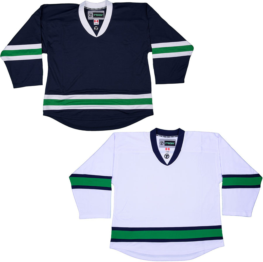 Vancouver Canucks Hockey Jersey - TronX DJ300 Replica Gamewear 91379c146