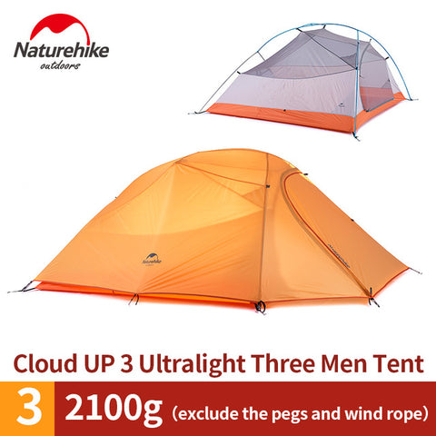 Cloud Up Series 1 2 3 Person Ultralight Tent