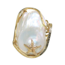 Load image into Gallery viewer, Baroque Pearl Ring - DIDAJ