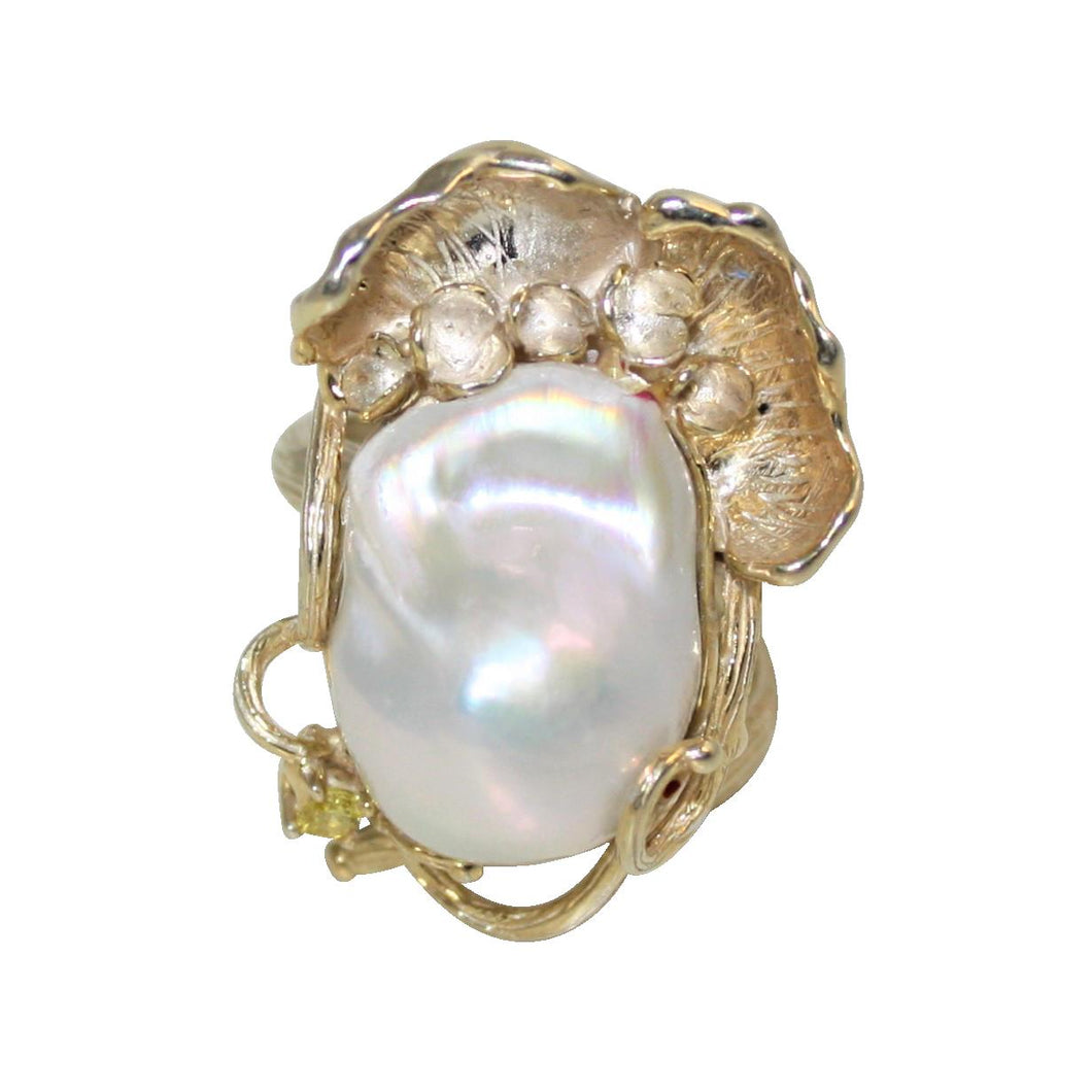 Baroque Pearl Ring - DIDAJ