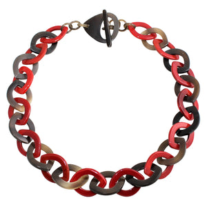 Horn Necklace in Dye Lacquer Color - DIDAJ