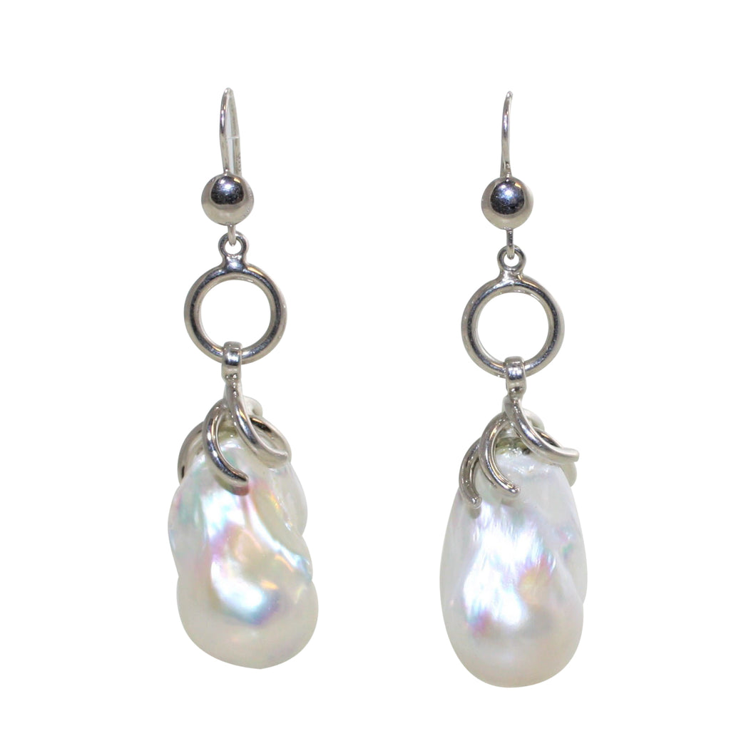 Baroque Pearl Earrings - DIDAJ