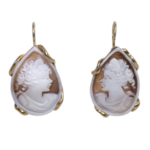 Italian Cameo Earrings - DIDAJ