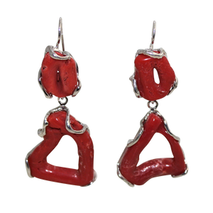 Italian Branch Coral Earrings - DIDAJ
