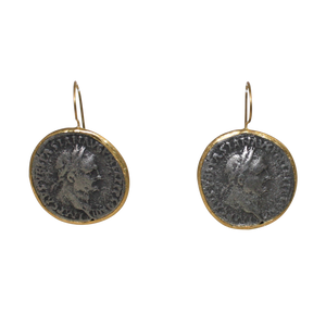 Roman Coin Earrings - DIDAJ