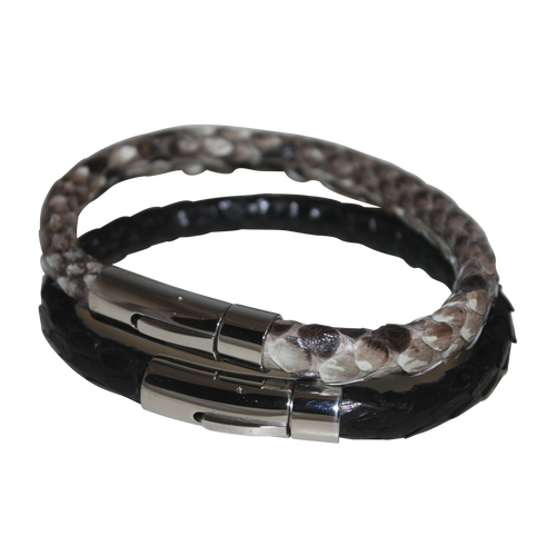 Men's Genuine Python Leather Bracelet - DIDAJ