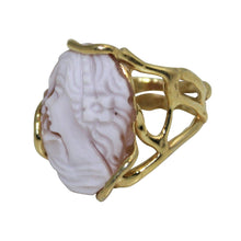 Load image into Gallery viewer, Italian Cameo Ring