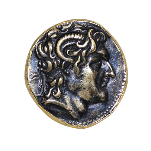 Italian Coin Statement Ring - DIDAJ