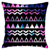 Abstract Galaxy Throw Pillow Cover